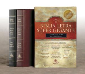 RVR 1960 Biblia Letra Súper Gigante con Referencias