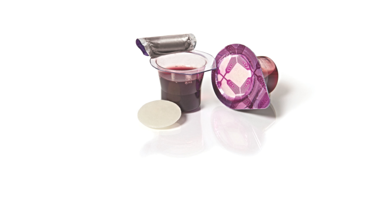 Fellowship Cup ® – prefilled communion cups – juice and wafer – 6 Count Box