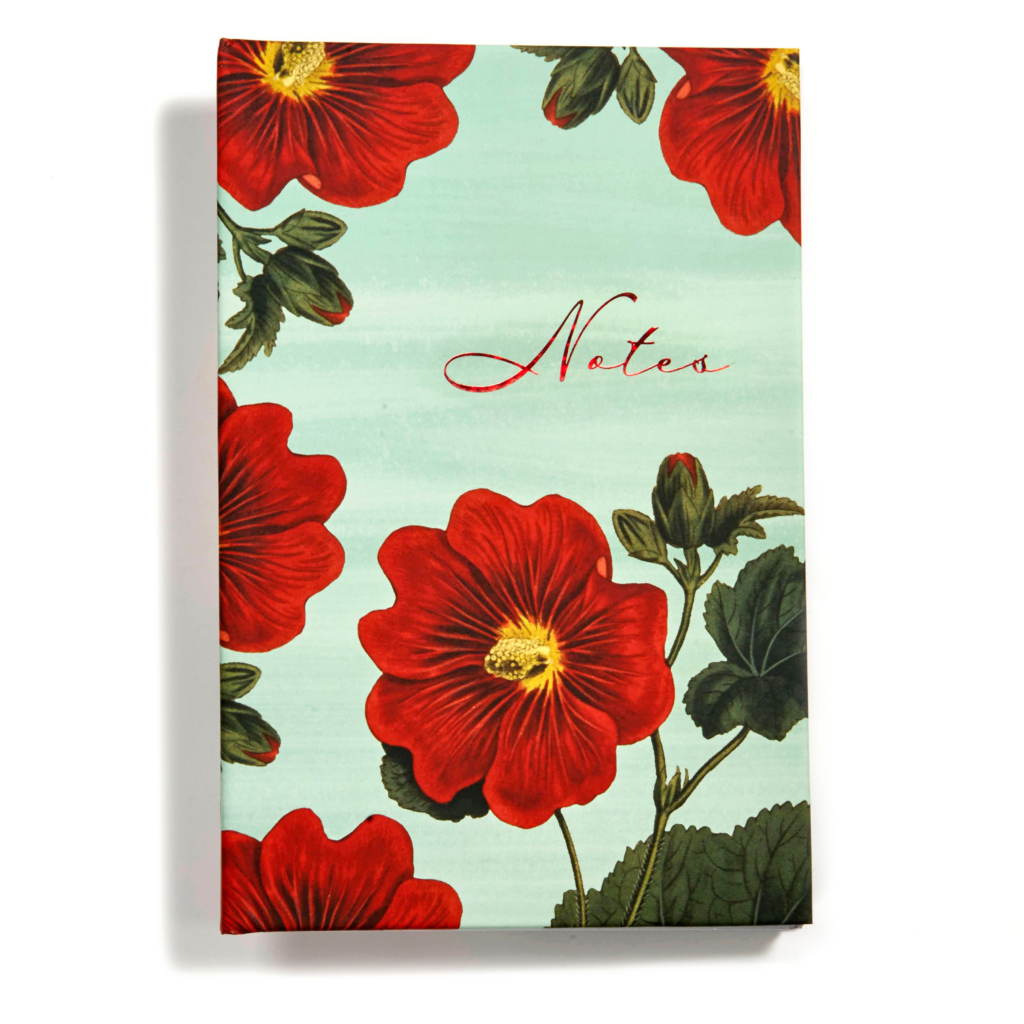 "Red Blooms ""Notes"", Scripture Notes Journal"