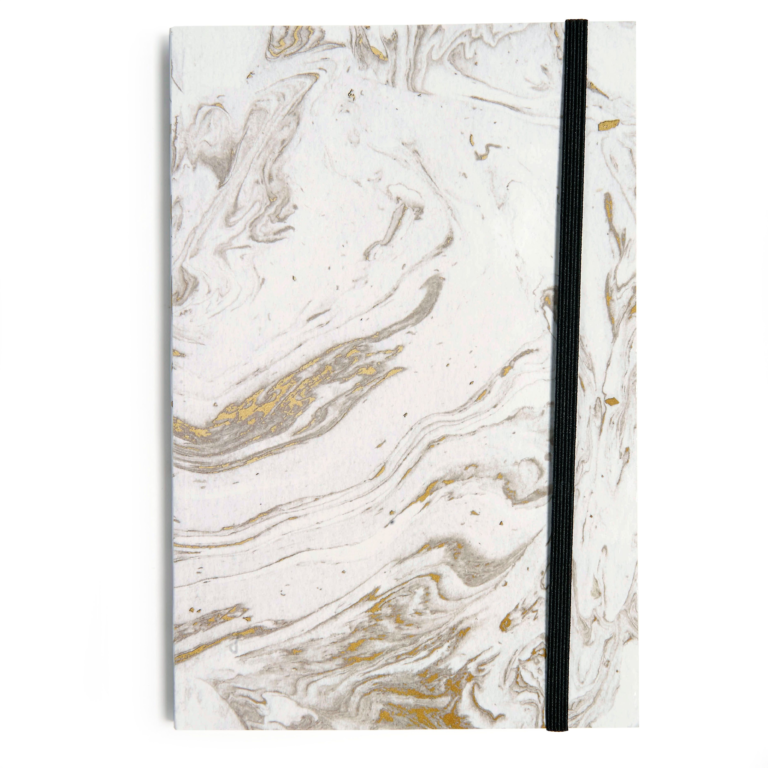 White Marble with Band, Journal