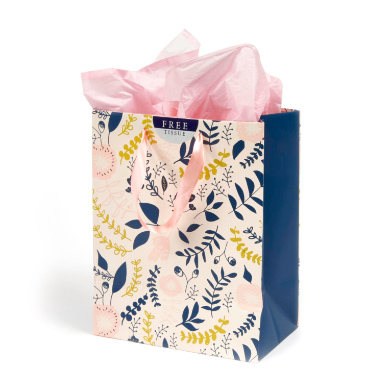 Everyday Hospitality Floral Gift Bag