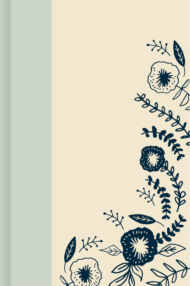 Pale Blue Spine, Everyday Hospitality Journal
