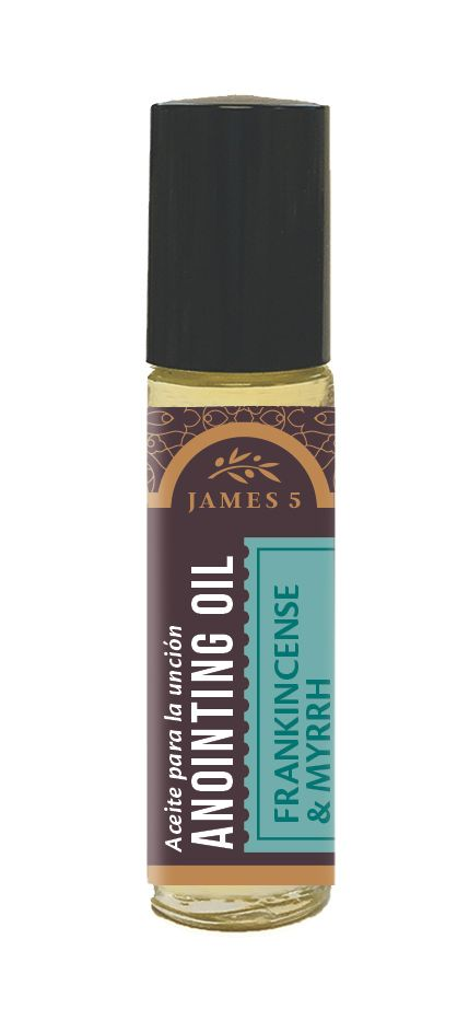 Anointing Oil – Frankincense and Myrrh (1/3 oz) Roll On