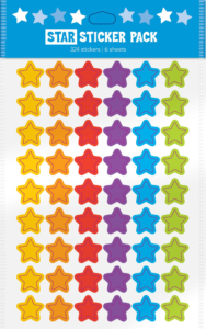 Stars (Multi-colored), Stickers