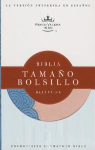 RVR 1960 Biblia Tamaño Bolsillo