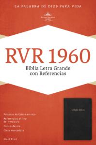 RVR 1960 Biblia Letra Gigante con Referencias