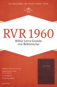 RVR 1960 Biblia Letra Grande con Referencias