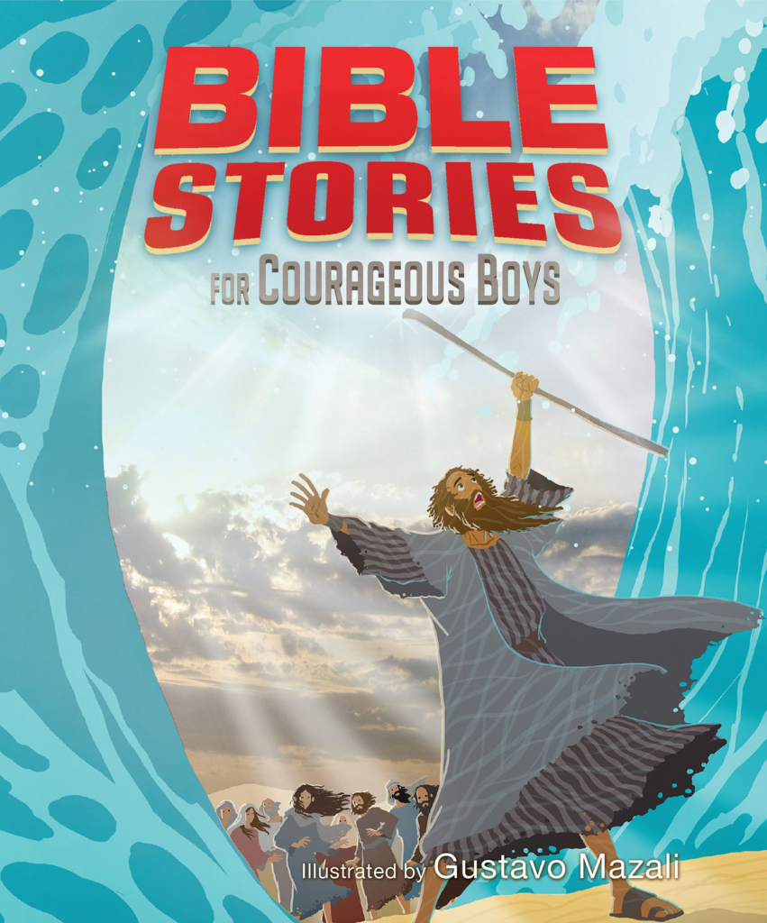Bible Stories for Courageous Boys, eBook