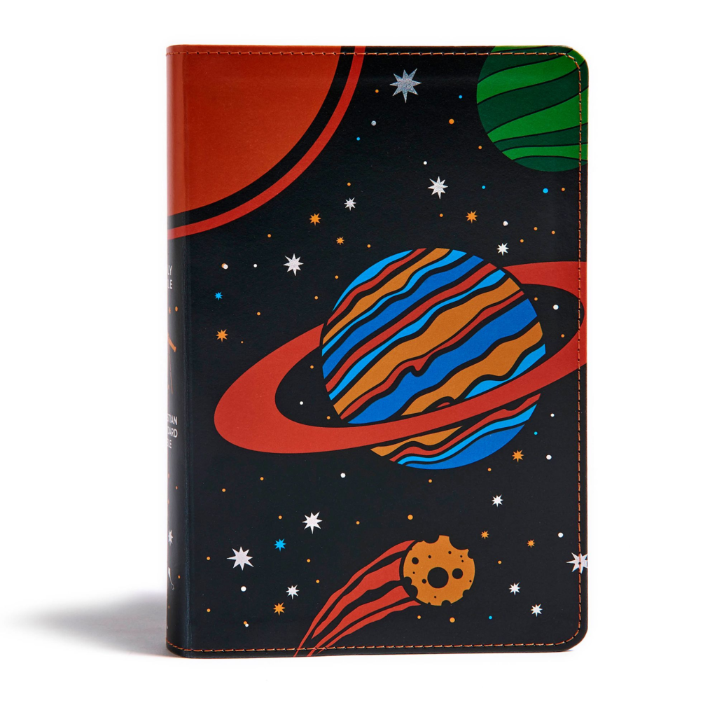 CSB Kids Bible, Space LeatherTouch