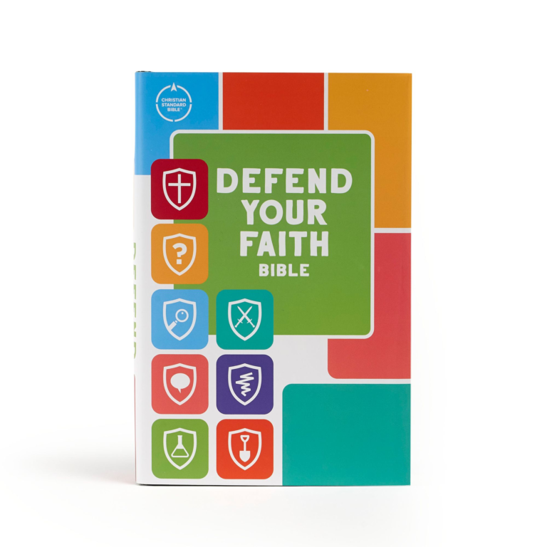 CSB Defend Your Faith Bible