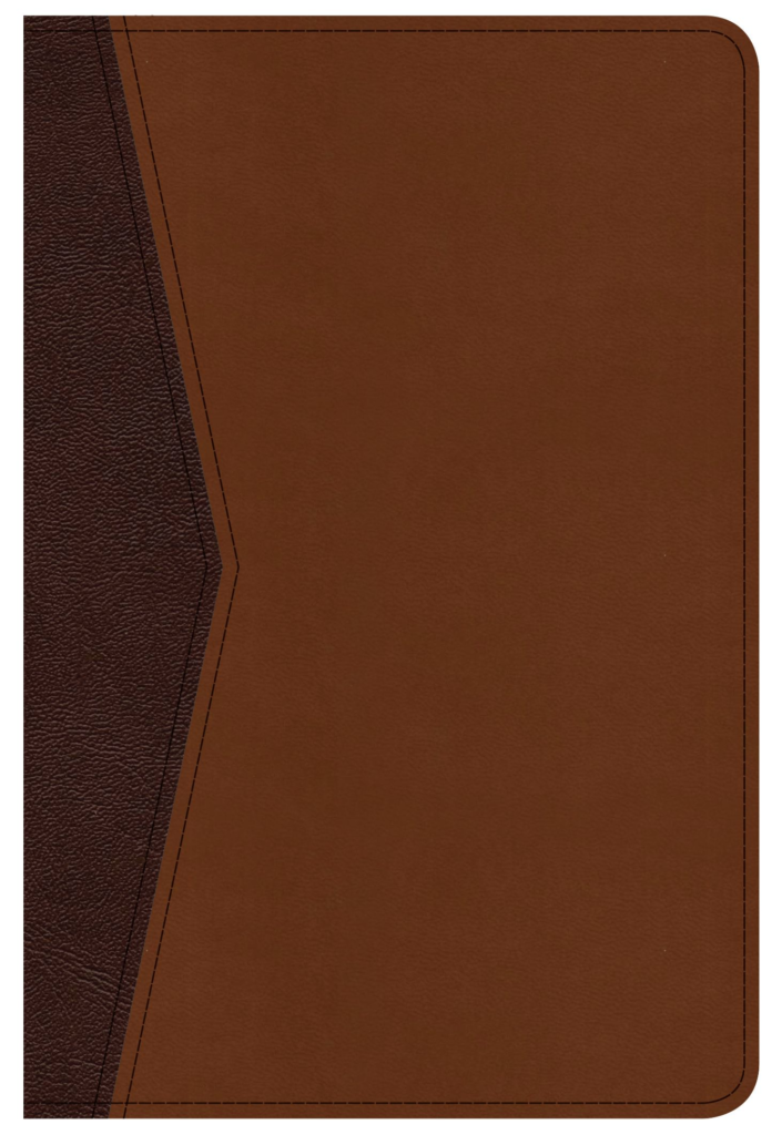 CSB Compact Ultrathin Bible for Teens, Walnut LeatherTouch