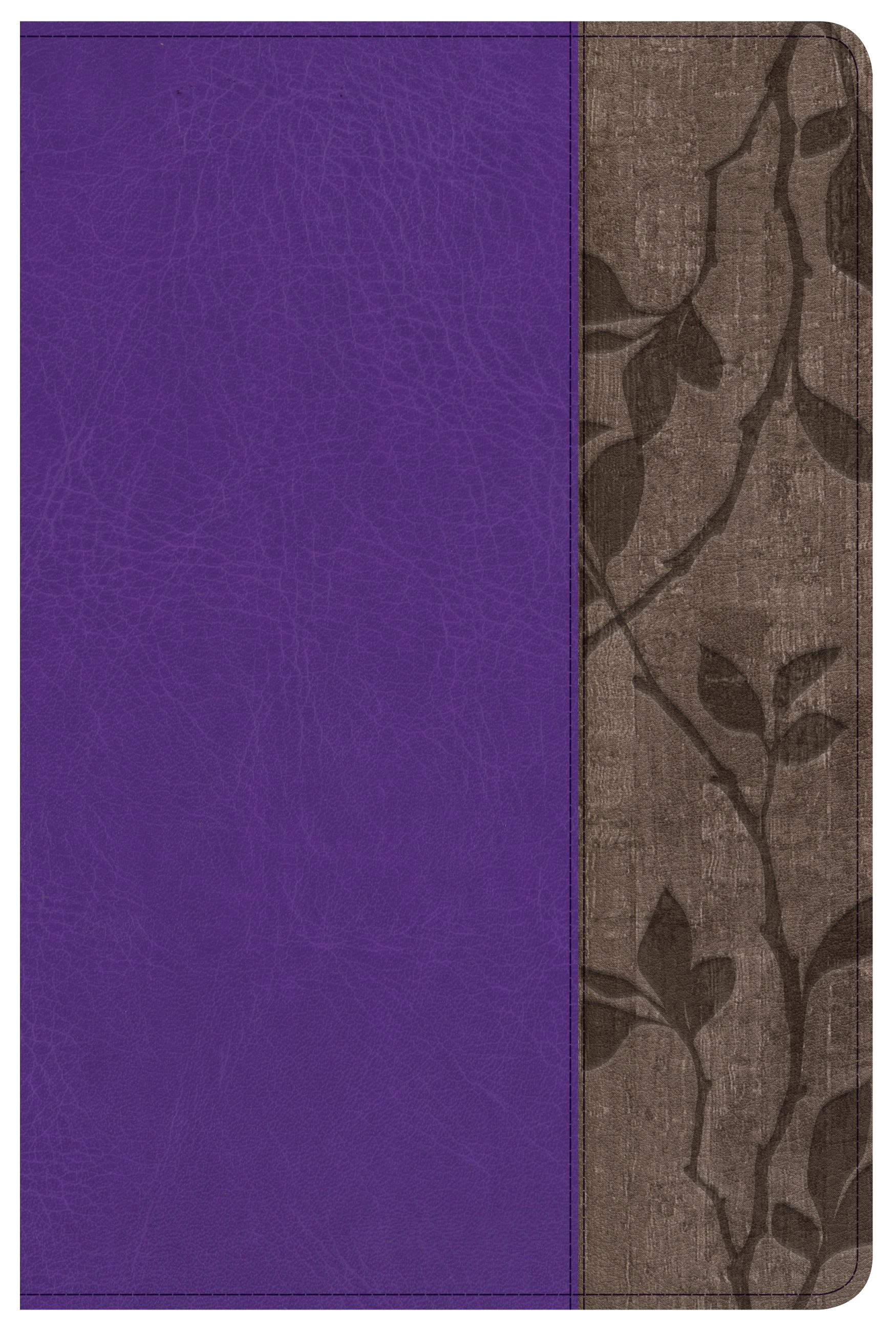 Holman Study Bible: NKJV Edition Personal Size, Purple LeatherTouch