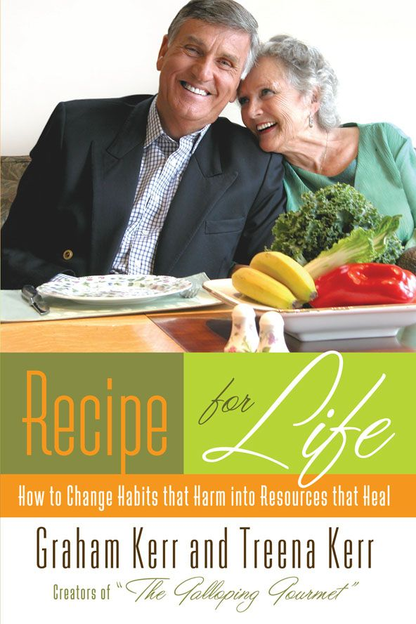 Recipe for Life, eBook