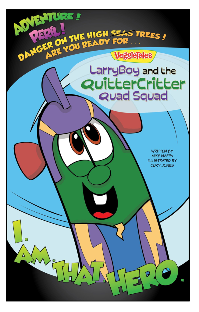 LarryBoy and the Quitter Critter Quad Squad, eBook