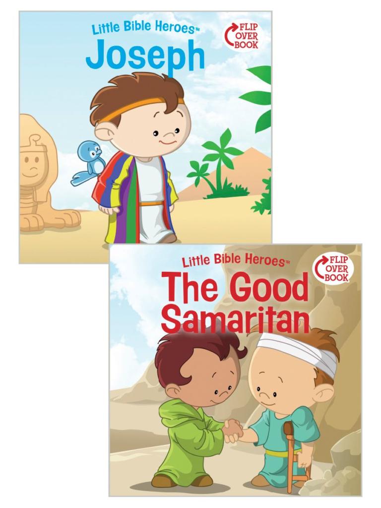 Joseph/The Good Samaritan Flip-Over Book
