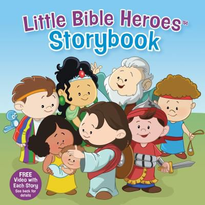 Little Bible Heroes Storybook (padded)