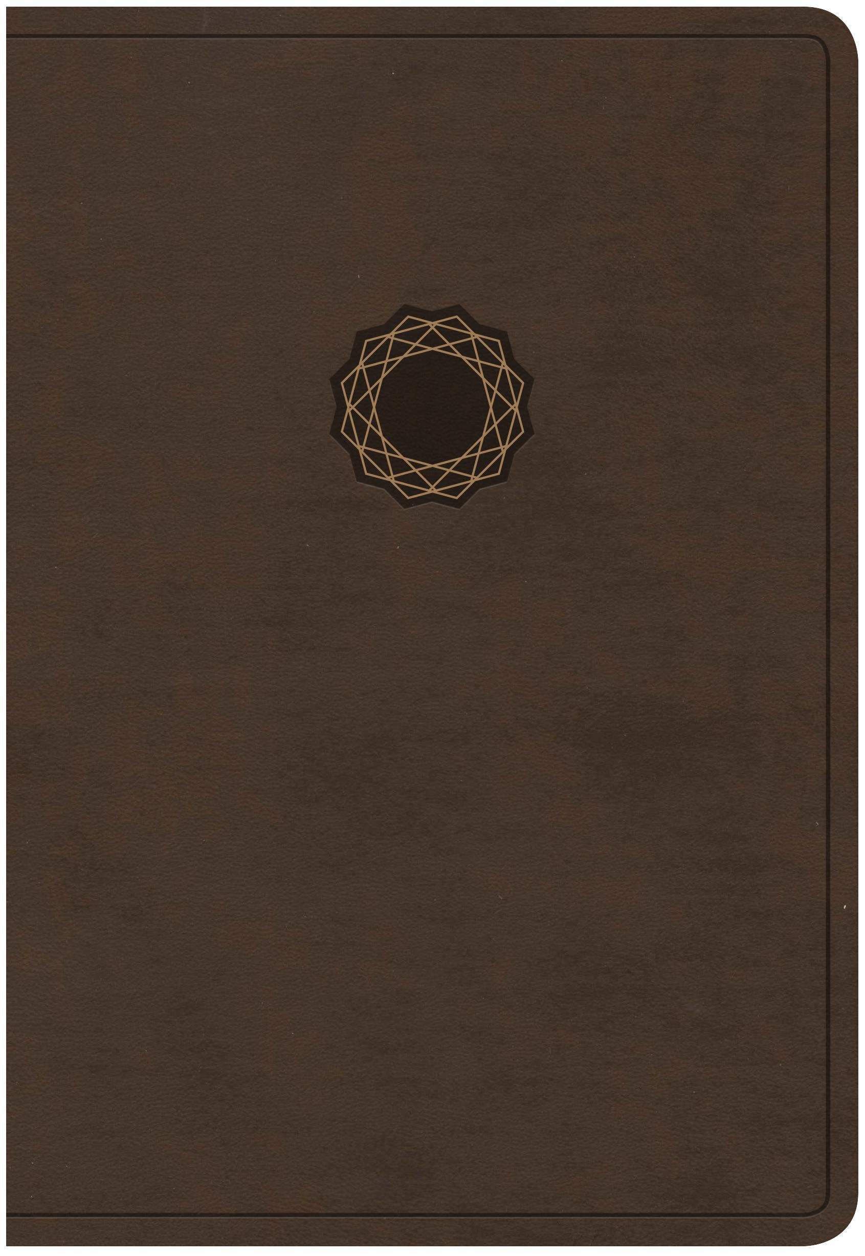 KJV Deluxe Gift Bible, Brown/Tan LeatherTouch
