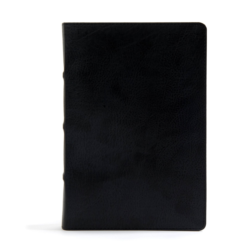 CSB Pastor's Bible, Black LeatherTouch