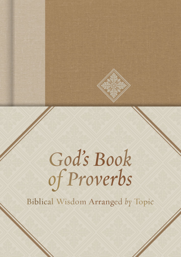 God's Book of Proverbs