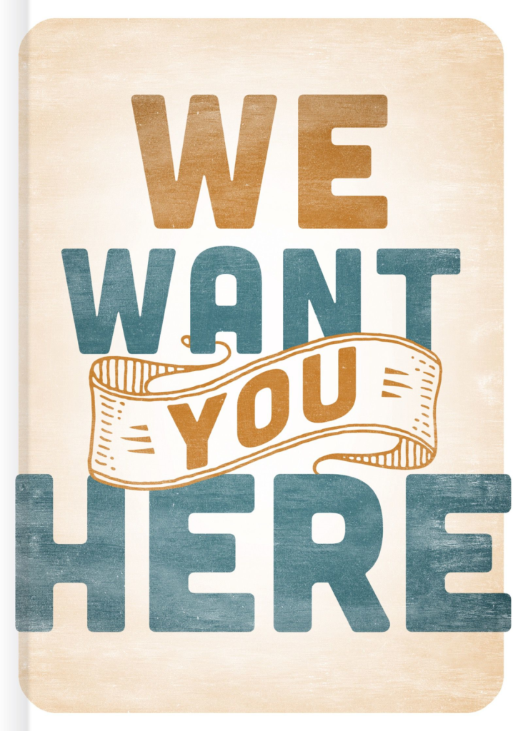 We Want You Here, eBook