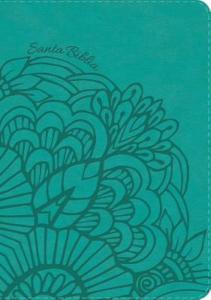 RVR 1960 Biblia Letra Grande Tamaño Manual aqua