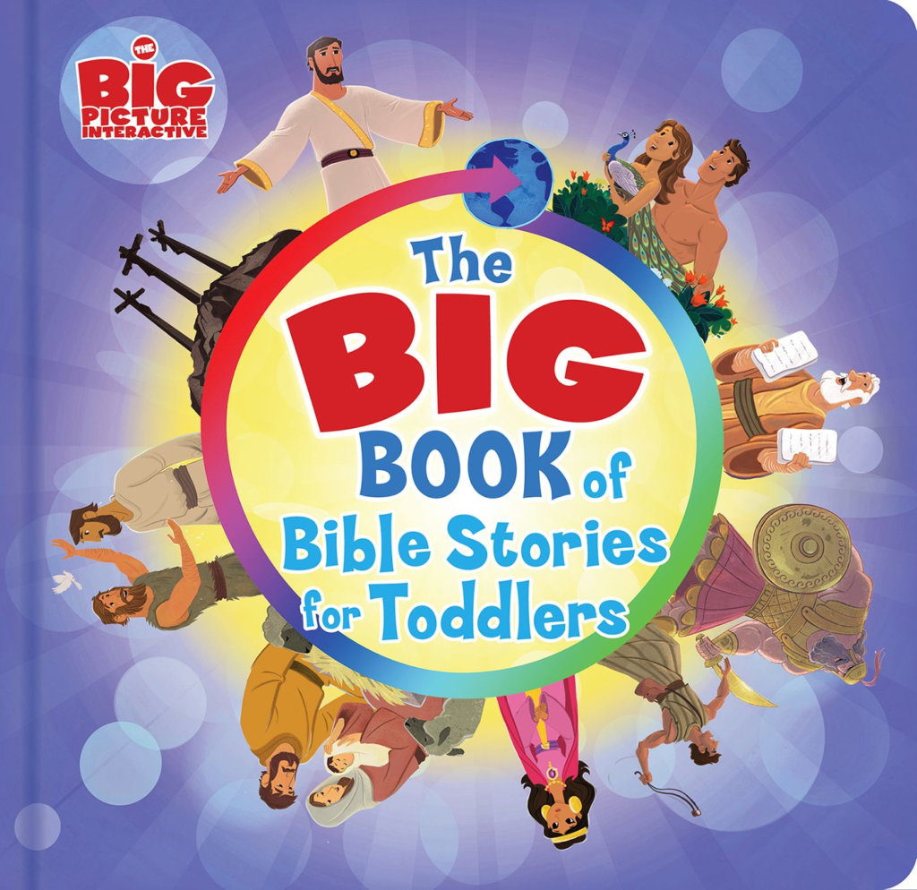 The Big Book of Bible Stories for Toddlers, eBook