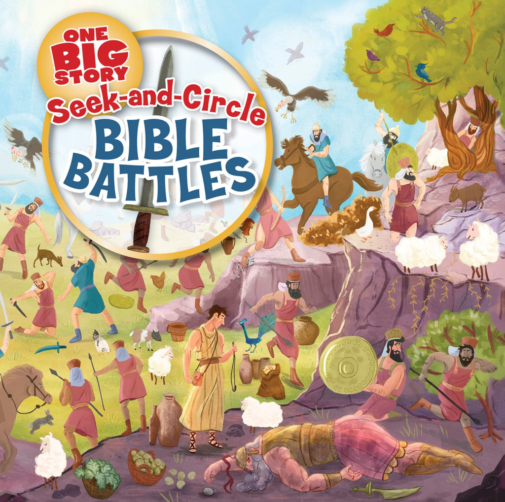 Seek-and-Circle Bible Battles epub