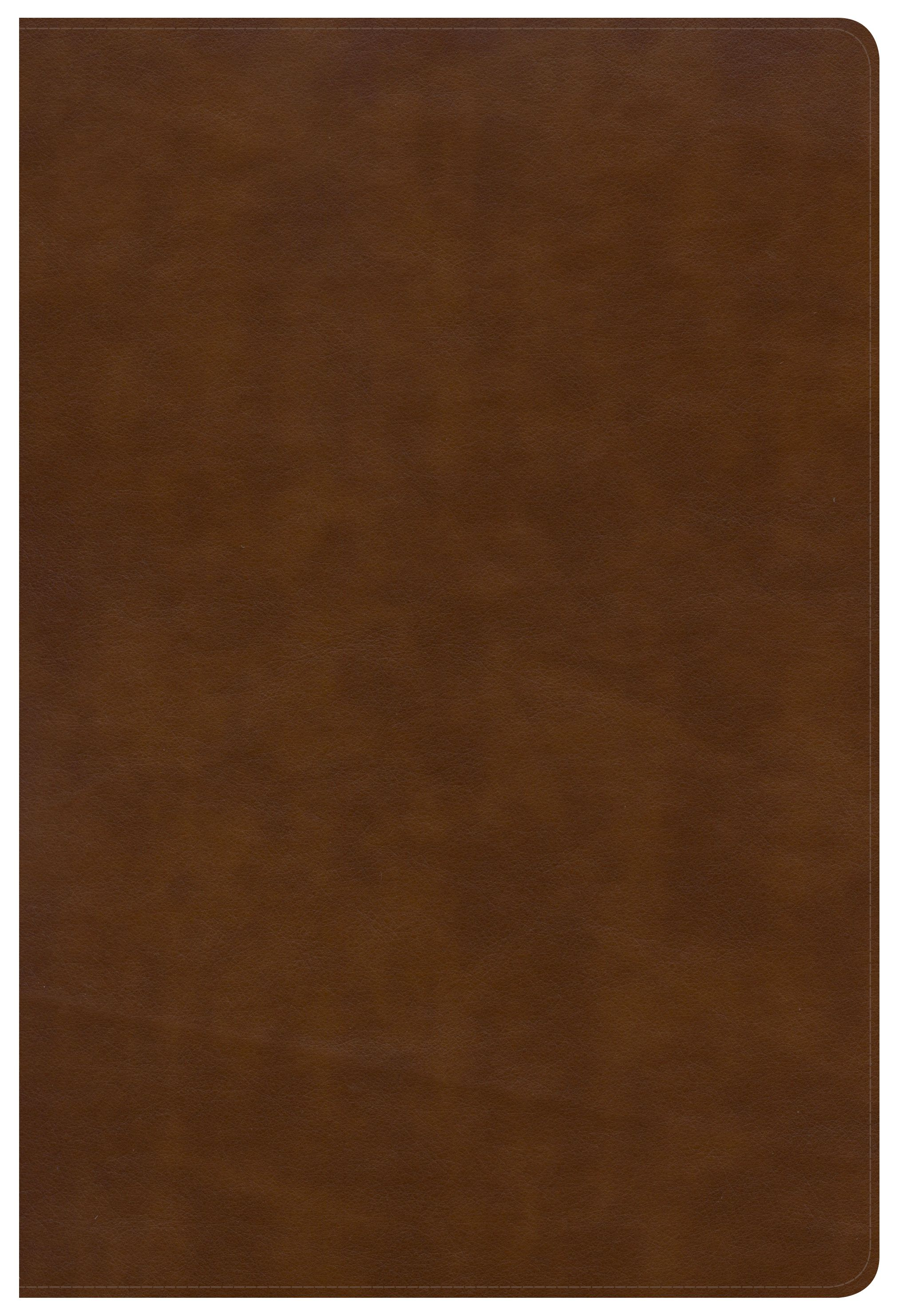 NKJV Large Print Ultrathin Reference Bible Black Letter Edition, British Tan LeatherTouch, Indexed