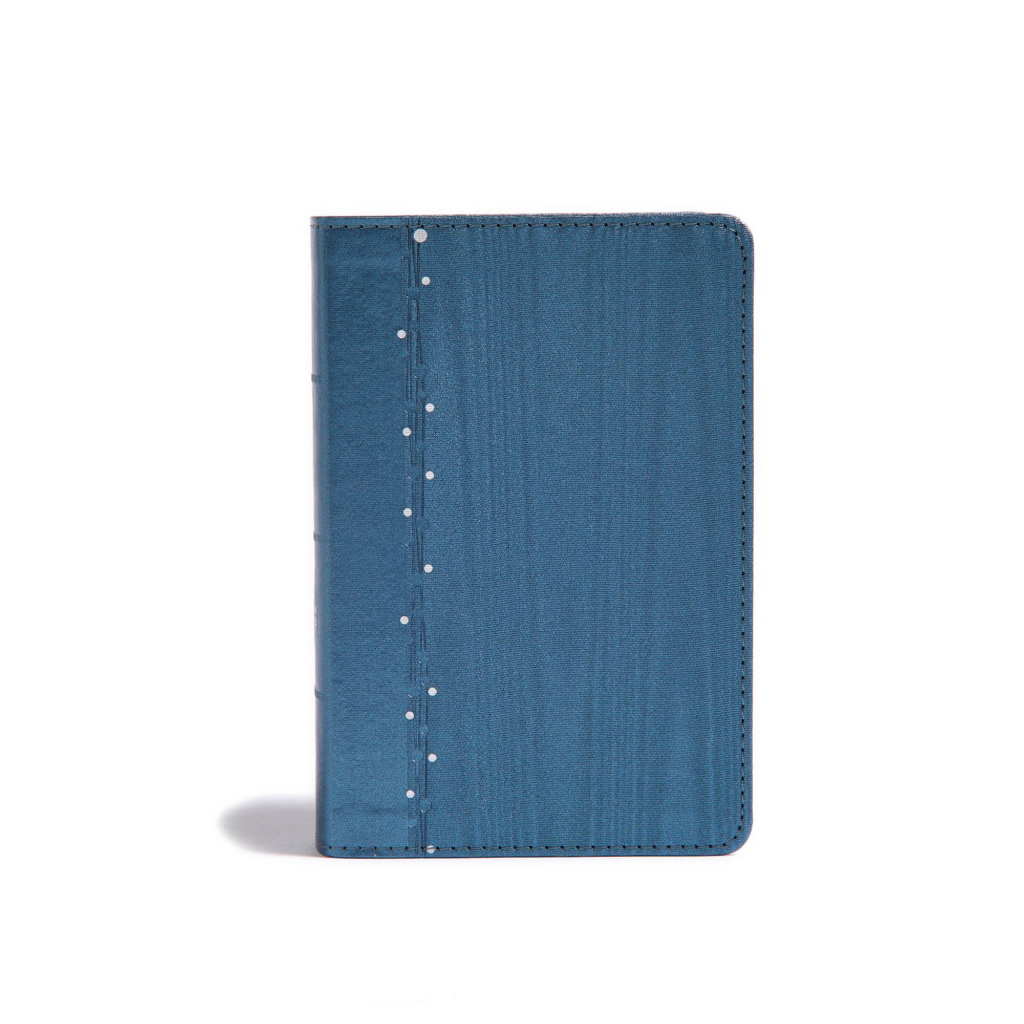 CSB On-the-Go Bible, Slate Blue