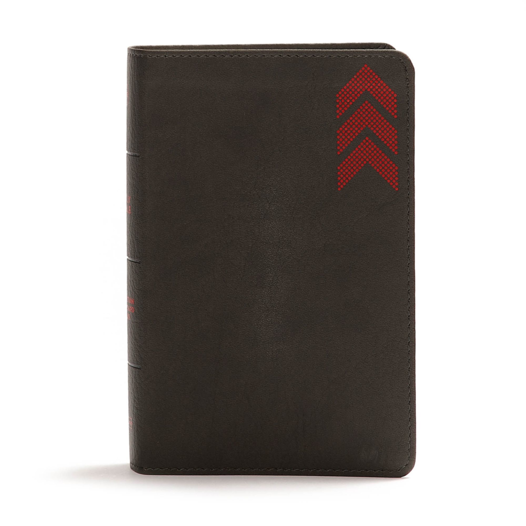 CSB On-the-Go Bible, Charcoal Arrow