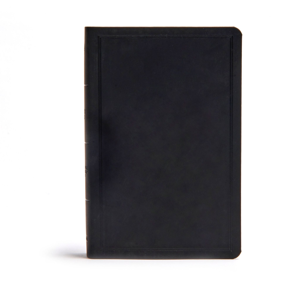 CSB Deluxe Gift Bible, Black LeatherTouch