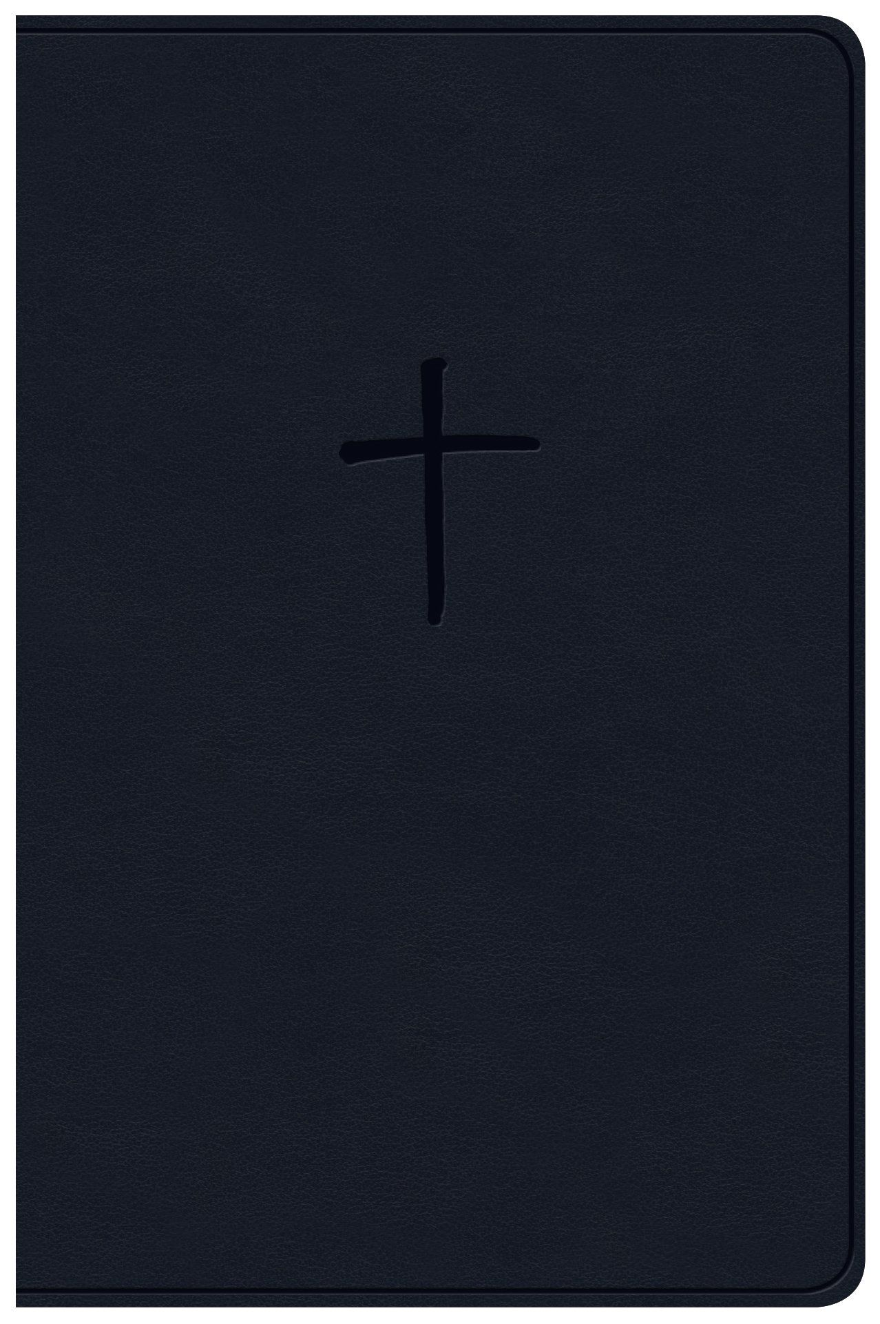 NKJV Compact Bible, Value Edition Navy Leathertouch