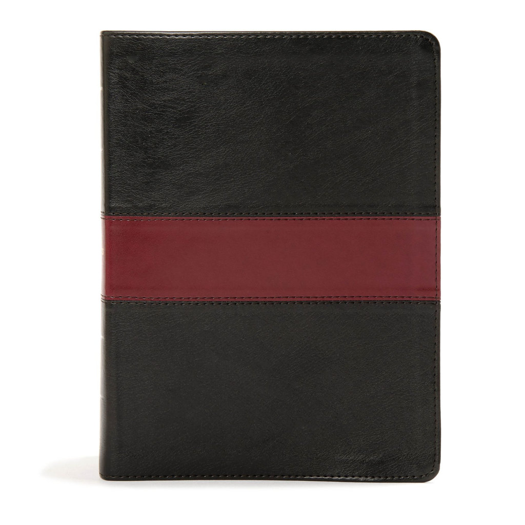 KJV Apologetics Study Bible, Black/Red Leathertouch Indexed