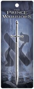 The Prince Warriors Bookmark Sword