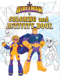 Bibleman Coloring and Activity Book