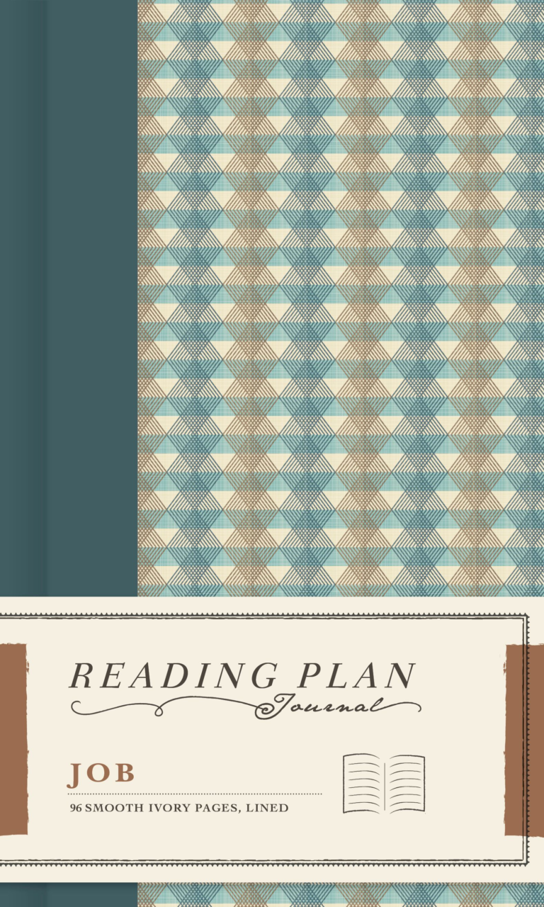 Job, Reading Plan Journal, Hardcover
