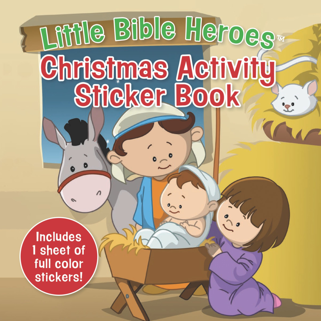 Christmas Activity Sticker Book