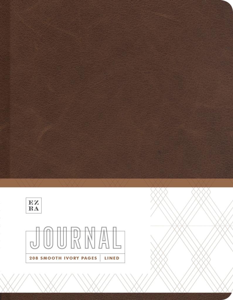 Ezra Warm Leather Journal