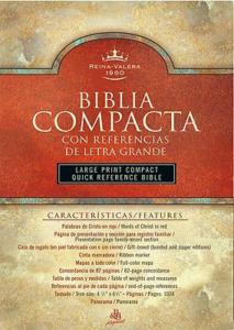 RVR 1960 Biblia Compacta Letra Grande con Referencias