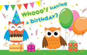 Who's Having A Birthday