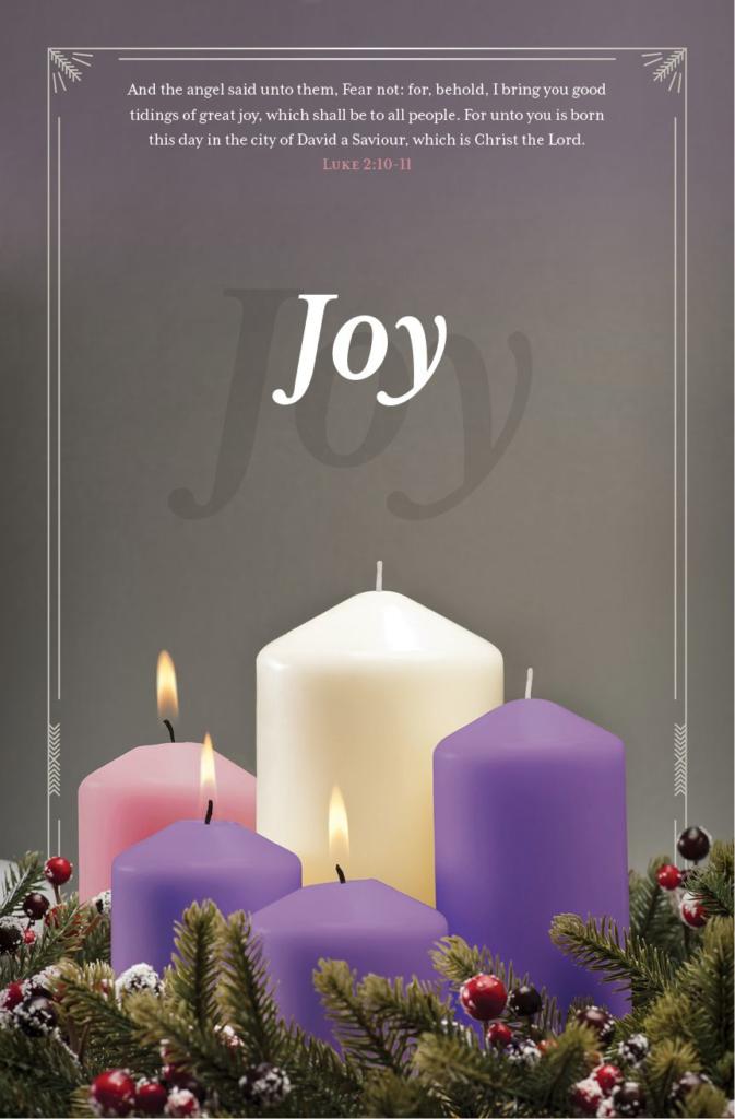 Advent Joy – Bulletin (Pkg 100) Advent