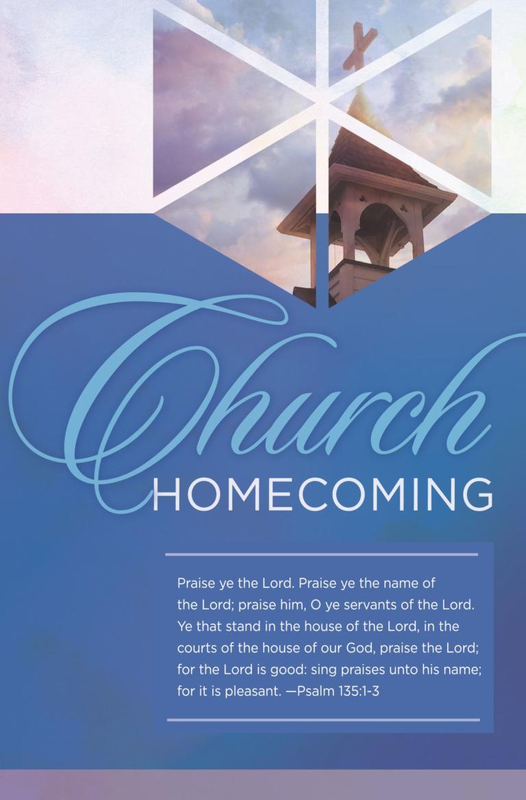 Praise the Lord – Bulletin (Pkg 100) Church Homecoming