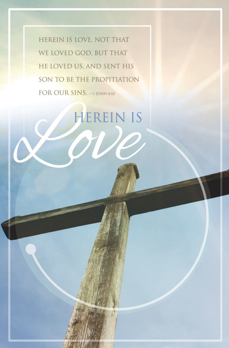 Herein Is Love – Bulletin (Pkg 100) General Worship