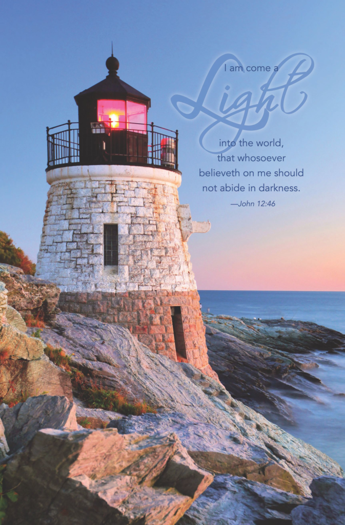 I Am Come A Light – Bulletin (Pkg 100) General Worship
