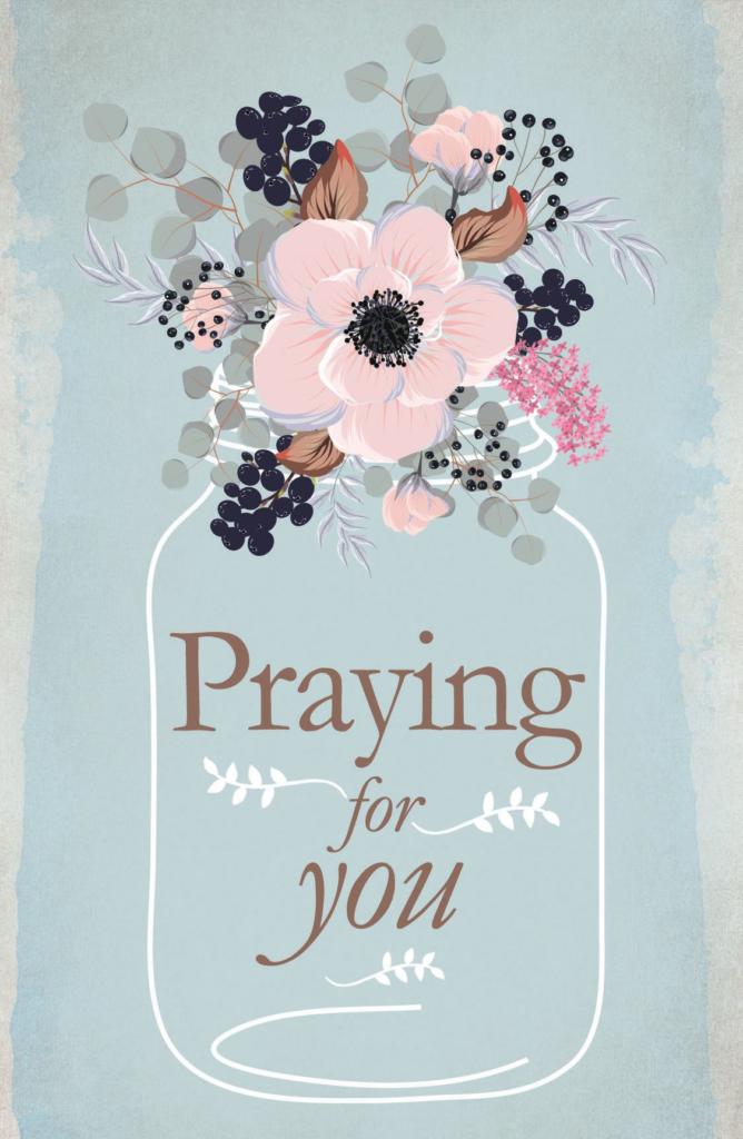 Praying for You – Postcard (Pkg 25) General Worship