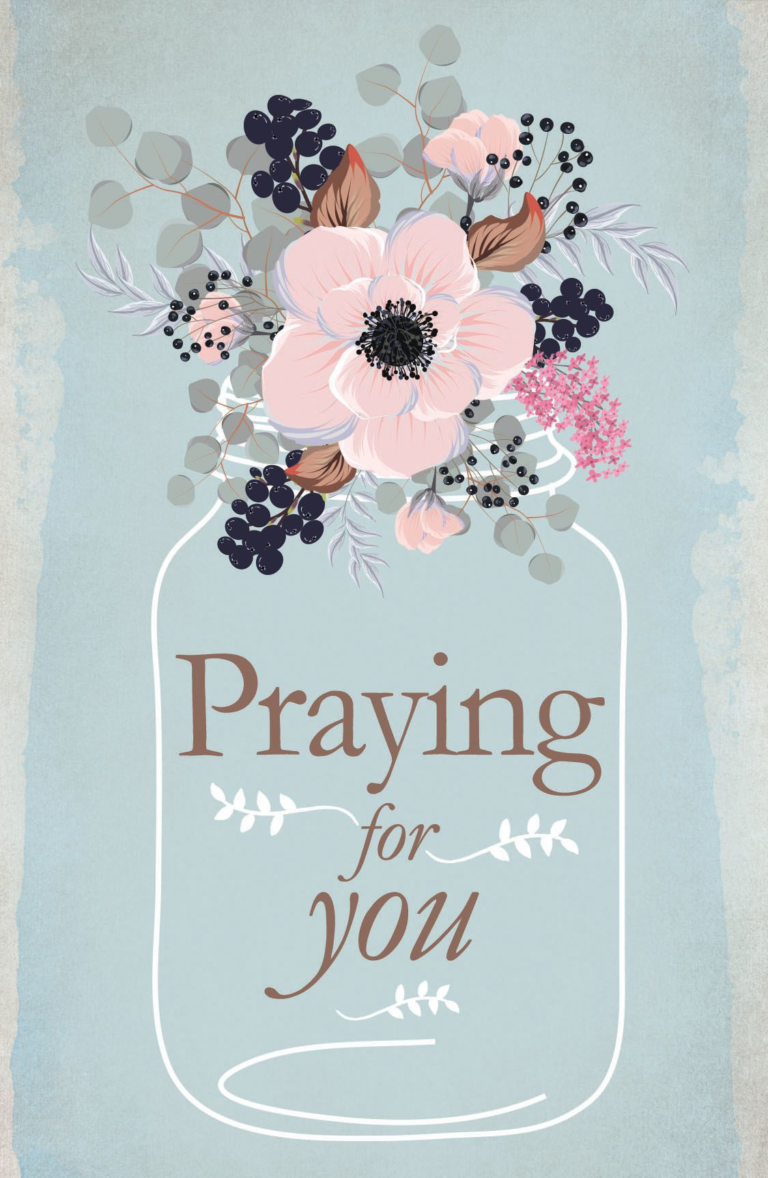Praying for You – Postcard (Pkg 25) General Worship
