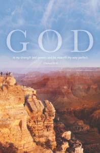 My Strength – Bulletin (Pkg 100) General Worship