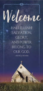 Welcome Revelation 19:1 – Guest Card (PKG 50)
