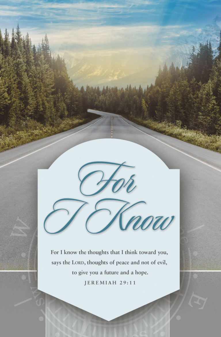 For I Know – Bulletin (Pkg 100) Graduation