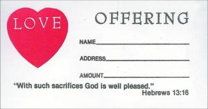 Love Offering